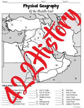 Middle East Map Set
