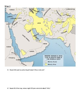 Middle East Mapping Packet
