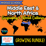 Middle East & North Africa - Geography/World Cultures BUNDLE!