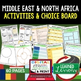 Middle East & North Africa (MENA) Activities, Choice Board