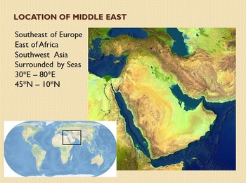 Middle East Unit Overview Lecture Notes