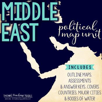 Middle East Political Map Unit