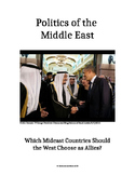 Middle East Politics:  Which Governments Should the U.S. Choose as Allies?