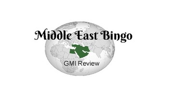 Middle East/Southwest Asia Bingo Review Game