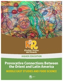 Middle East Studies - Provocative Connections, The Orient and Latin America