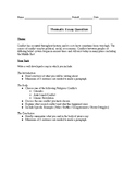 Middle East Thematic Essay on Conflict