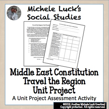 Middle East Travel the Region Unit Project