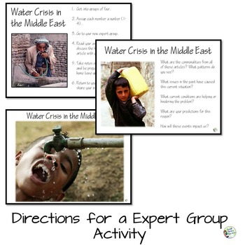 Middle East Water Crisis - Geography Research and Discussion