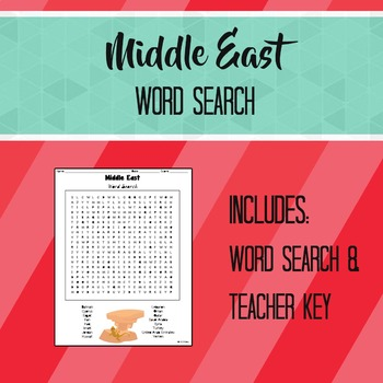 Middle East Word Search