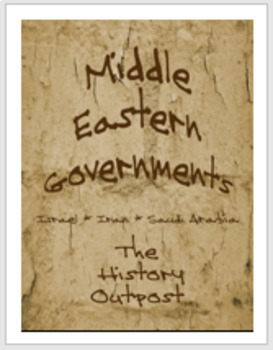 Middle Eastern Governments - Israel, Iran, and Saudi Arabia