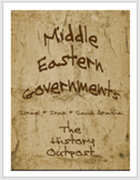 Middle Eastern Governments - Israel, Iran, Saudi Arabia, and Turkey