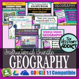 Middle Grade Geography Instructional Bundle
