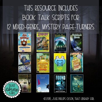 Middle Grades Library Lessons - Mystery Vocabulary Book Talks