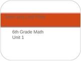 Middle Grades Math PPT Presentation - Stem and Leaf Plots