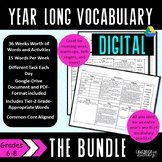 Digital Daily Vocabulary Activities