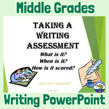 Middle Grades Writing Test Preparation PowerPoint