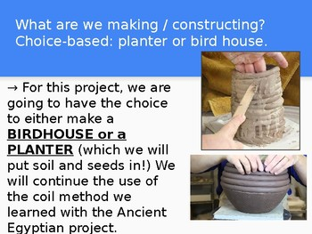 Middle & High School Clay Ceramic Planters & Bird House Project Bundle