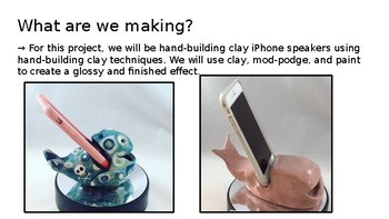 Middle & High School Clay/Ceramic Speaker Project Bundle