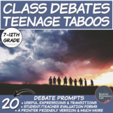 Middle/High School Debate Packages: Teenage Taboos