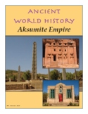 Middle / High School History - Ancient Aksum Web Activity
