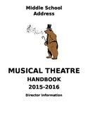 Middle/High School Musical Theatre Handbook