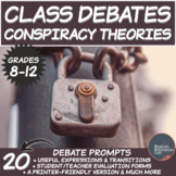 Middle/High School Package Debates: Conspiracy Theories