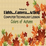 Middle/High School Technology Project - Colors of Autumn