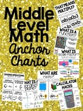 Middle Level Math Anchor Charts