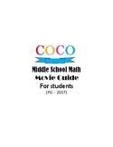 Middle School Math at the Movies: Coco