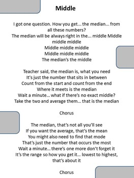 "Middle (Median) - Jason Derulo ""Wiggle"" parody song"