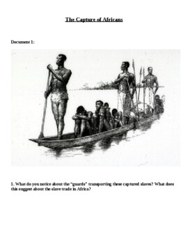Middle Passage Theme Song using Slave Trade Documents