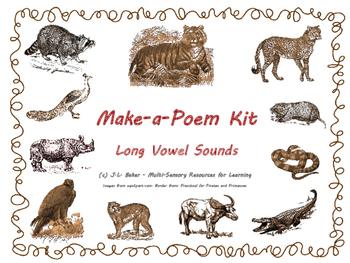 Phonics Make-a-Poem Kit - Animal Theme