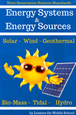 Middle School Science:  6 Week Unit on Energy Systems, and Energy Sources