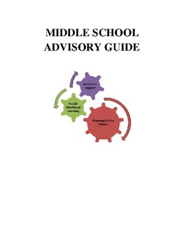 Middle School Advisory Period Guide with Character Education Integration