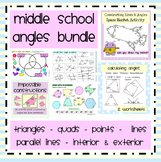 Middle School Angles Bundle