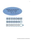 Night by Elie Wiesel Flexible Unit Plan