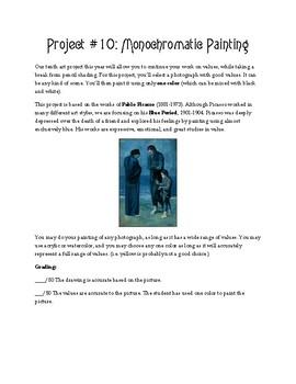 Middle School Art Curriculum: Exploring Great Art