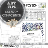 Middle School Art, High School Art, Rules of Composition H