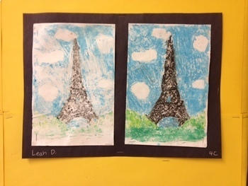 Middle School Art Lesson Plan  Printmaking and Grid Drawing Unit