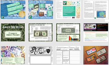 "Middle School Art Project: ""About Me Bucks"" A Currency Design Project."