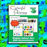 Middle School Art SGO Assessments