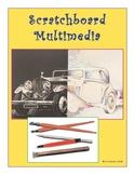 Middle School Art, Scratchboard Multimedia Unit