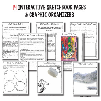 Middle School Art Sketchbook