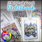 Sketchbook for Middle School Art