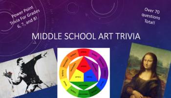 Middle School Art Trivia