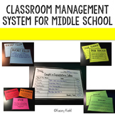 Classroom Management System for Middle School: Positive Behavior Tallies