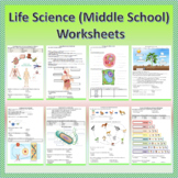 Life Science (Middle School) - Worksheets   Printable and