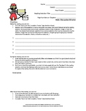 Middle School ELA Book Club or Small Group Role Sheets & Task Completion Tracker