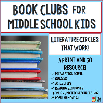 Book Clubs! Literature Circles for Middle School