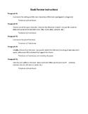 Middle School Book Report Bundle